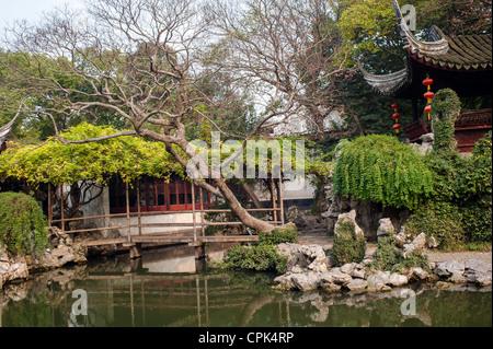 Tuisi garden built in 1885,Located in Tongli of Suzhou - Stock Photo