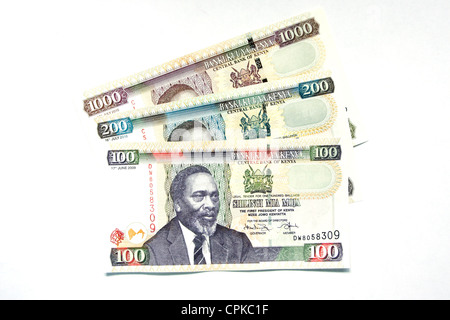Currency of Kenya (shilling) - Stock Photo