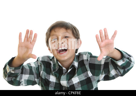 Young charming happy boy - Stock Photo