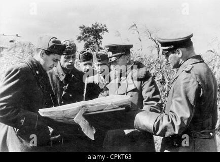 General Ewald von Kleist in the Ukraine, 1941 - Stock Photo