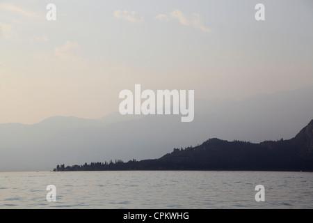 Lake Garda Gardasee - Stock Photo