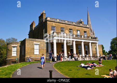 Clissold House Cafe And St Marys Church Park Stoke Newington London