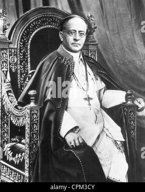 Pope Pius XI, 1927 - Stock Photo