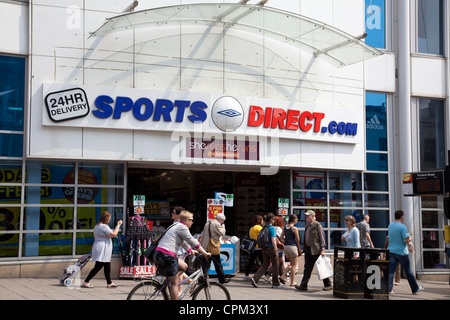Sports Direct Store on Brighton North Street - Stock Photo