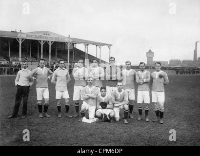 German soccer club in Prague, 1912 - Stock Photo