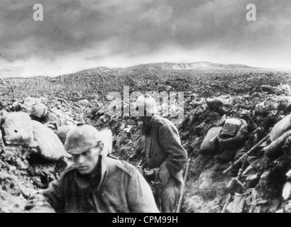 Battle of Verdun, 1916 - Stock Photo