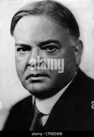 Herbert Clark Hoover, 1932 - Stock Photo