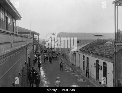 Lourenco Marques in Mozambique, around 1900 - Stock Photo