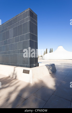 Middle East, Israel, Jerusalem, Israel Museum, The Shrine of the Book, containing the Dead Sea Scrolls - Stock Photo