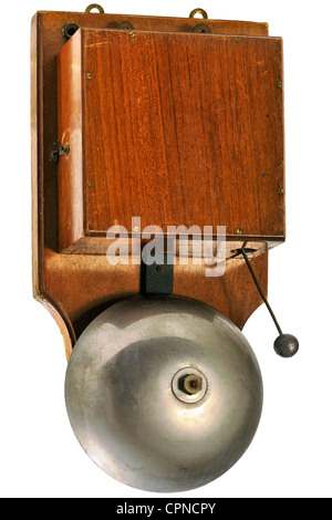 technics, bell, electric school bell, Germany, circa 1927, Additional-Rights-Clearences-NA - Stock Photo