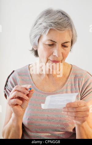 SELF MEDICATION - Stock Photo