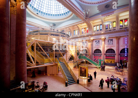 Manchester Northern England UK Royal Exchange Theatre - Stock Photo