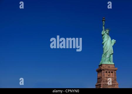 New York cities Statue of Liberty - Stock Photo
