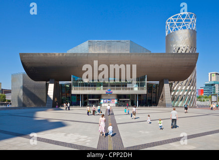 Lowry centre salford quays manchester Greater Manchester England UK GB EU Europe - Stock Photo