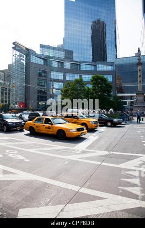 Time Warner Center, Columbus Circle, New York City - Stock Photo