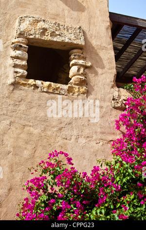 Building along the Dead Sea, Movenpick Resort Hotel, Jordan, Western Asia - Stock Photo