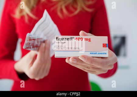 MEPROBAMATE - Stock Photo