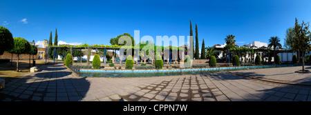 Spain Andalusia Cordoba city park - Stock Photo
