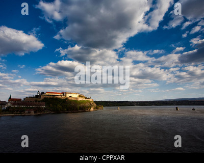 Petrovaradin fortress in Novi Sad, Serbia - Stock Photo