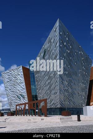 Titanic Belfast Visitor Centre - Stock Photo