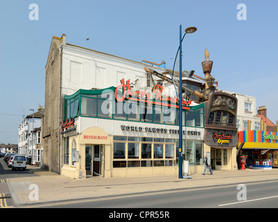 Harry Ramsden's Fish and Chip Shop Great Yarmouth UK - Stock Photo