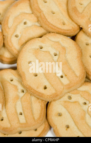 Trefoils Girl Scout cookies.  - Stock Photo