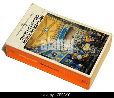 Nicholas Nickleby by Charles Dickens - Stock Photo