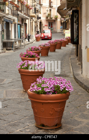 Street scene, Pizzo, Calabria, Italy - Stock Photo