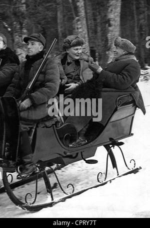 Goering, Hermann, 12.1.1893 - 15.10.1946, German politician (NSDAP), Reich Marshal, scene, with the Polish prime - Stock Photo