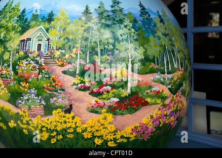 Vail, Colorado; Art Piece U0027Betty Ford Alpine Gardens   Vailu0027 Artist Cheryl  St. John