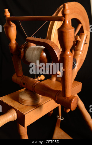 Spinning Wheel - Stock Photo
