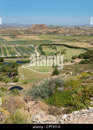 Marina Del Torre Golf Club, Mojacar, Almeria Province, Andalusia, Spain - Stock Photo