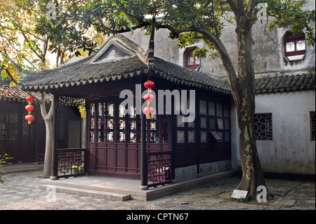 Tuisi garden built in 1885, is one of the world cultural heritage, Suzhou of China - Stock Photo