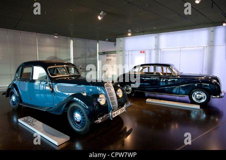 Vintage German Bmw In Showroom Of South Carolina Automaker Plant Usa