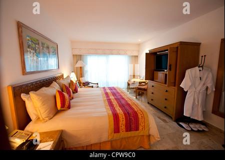 Room suite at Villa Premiere Hotel & Spa, Puerto Vallarta, Mexico. - Stock Photo