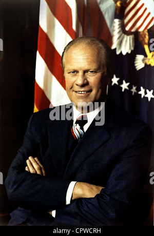 Gerald Ford, 38th President of the United States. - Stock Photo