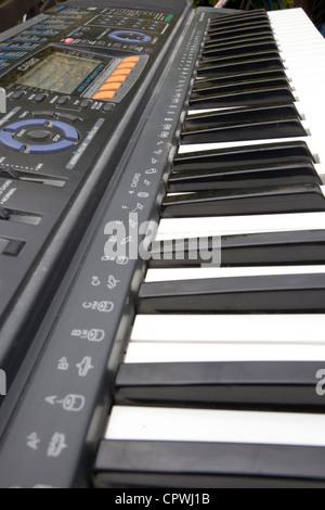 electric piano keyboard - Stock Photo