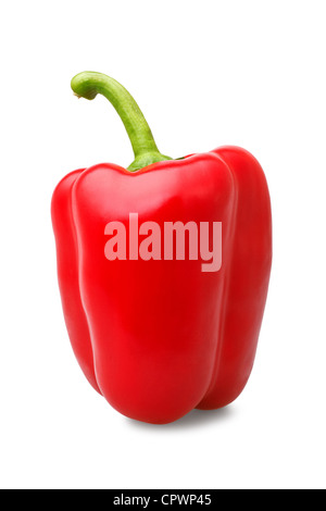 red bell pepper - Stock Photo