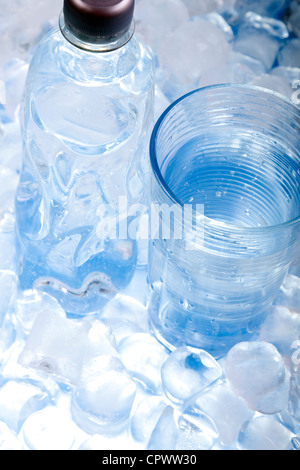 Laboratory Glassware, flasks and test tubes - Stock Photo