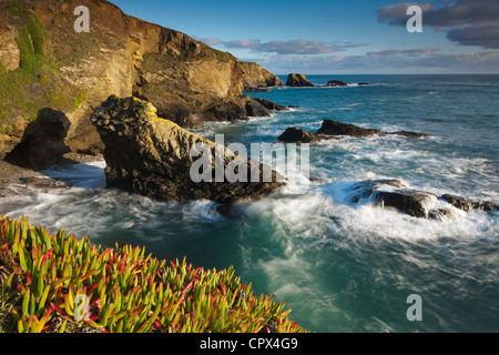 Lizard Point (the most southerly point in mainland Britain), Cornwall, England - Stock Photo