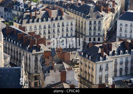 France, Loire Atlantique, Nantes, Place Royale - Stock Photo