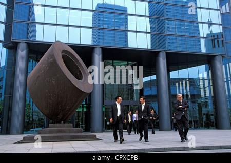 Japan, Honshu Island, Kinki region, Osaka city, osaka business park, tsurumi ryokuchi, tour cristal - Stock Photo
