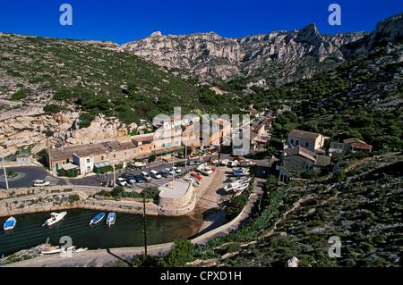 France, Bouches du Rhone, Marseille, Callelongue (Calanques National Park since 2012/04/18) - Stock Photo