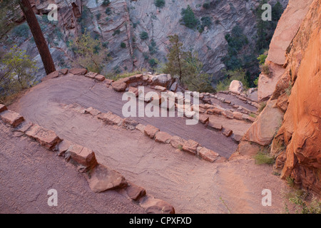 Walters Wiggles, Zion National Park - Stock Photo