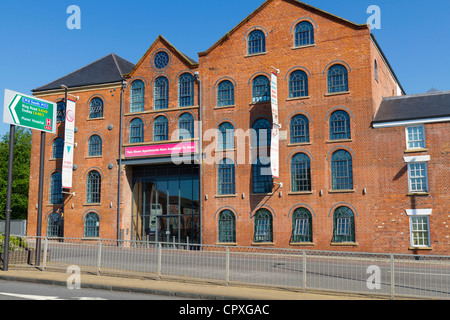 New apartments built out of an old warehouse in Walsall West Midlands - Stock Photo
