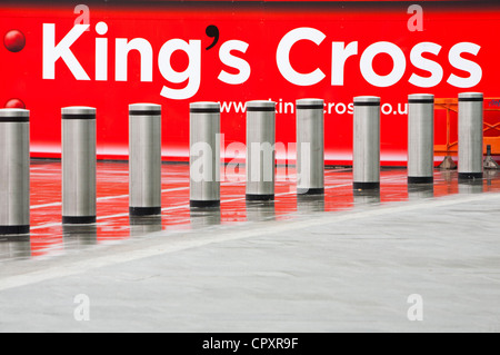 Kings Cross renewal works, London, UK. - Stock Photo