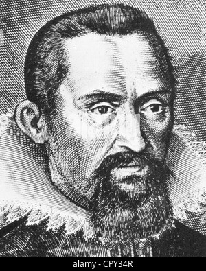 JOHANNES KEPLER (1571-1630) German mathematician and astronomer - Stock Photo