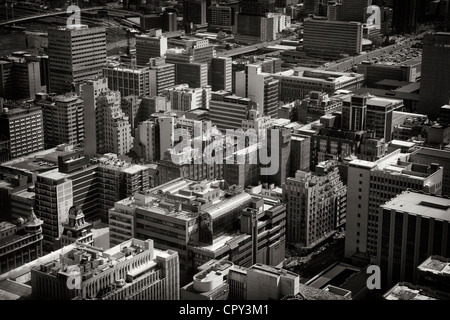 Cityscape of Johannesburg, South Africa. Taken from the 'Top of Africa' the Carlton Centre, Africa's tallest building