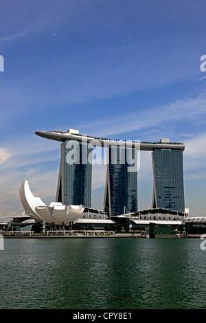 Marina Sands Casino, Singapore - Stock Photo