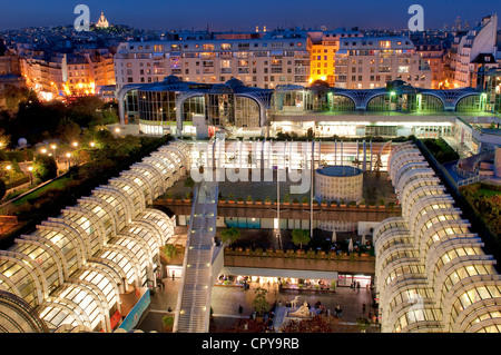 view to the forum des halles france les halles paris. Black Bedroom Furniture Sets. Home Design Ideas